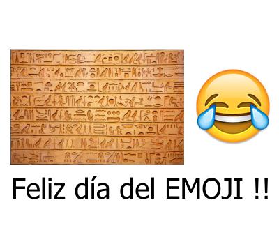 Feliz dia del emoji